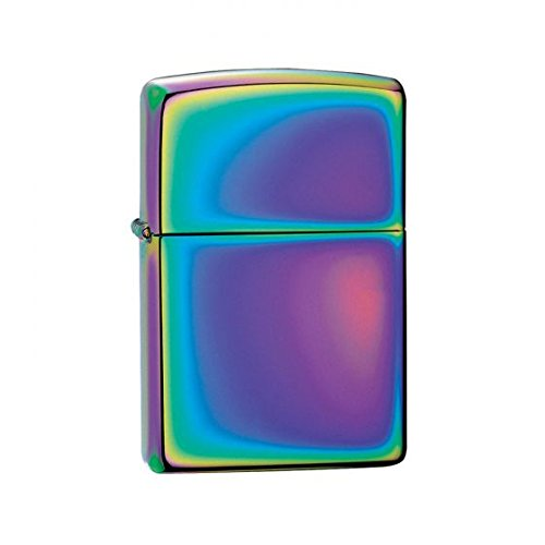 Zippo USA 151-1 Brass Spectrum Lighter (Multicolour)