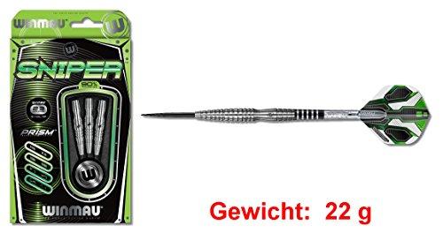 """Steeldart Winmau """"SNIPER STEEL"""", 22 g., 90% Tungsten Ein Dart mit höchst professionellen Eigenschaften !"""