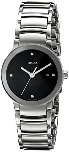 Rado Reloj de pulsera de acero inoxidable Centrix Jubile R30928713 para mujer