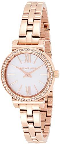 Michael Kors dames analoog kwarts horloge met roestvrij stalen armband MK3834