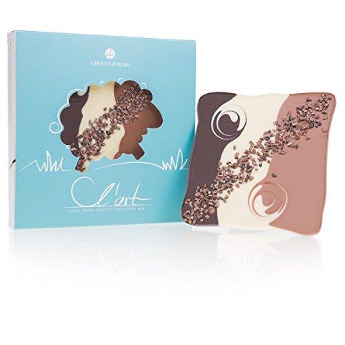 Schokoladentafel L´Art - Schaf - zu Ostern | Osterschokolade | Ostergeschenk | Ostern Süßigkeiten | Alkoholfrei | ohne Alkohol | Ostergeschenke für Kinder und Erwachsene