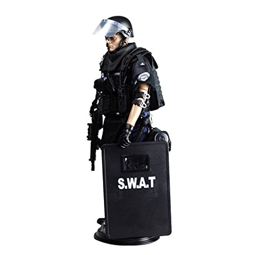 MagiDeal Punto Soldato Uomo Action Figure da 12 Pollici 1/6 Esercito Combattimento SWAT
