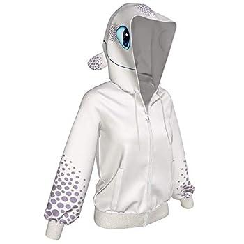 Toothless Light Fury Hoodie Men Women Jacket Creative Casual Sweatshirt for Spring Autumn
