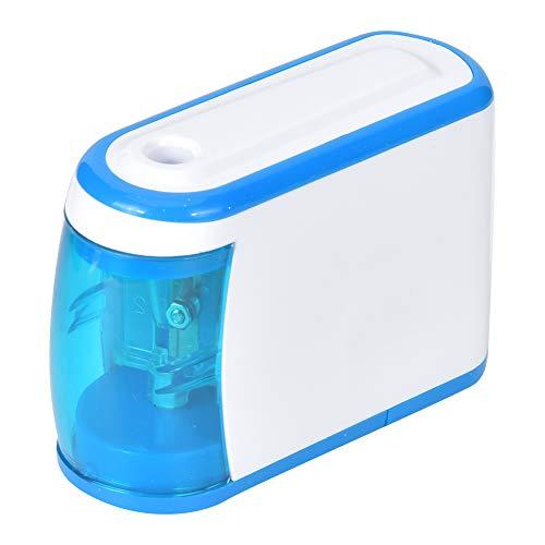 Sacapuntas eléctrico, alimentado por batería, con almohadilla antideslizante, para oficina en el...