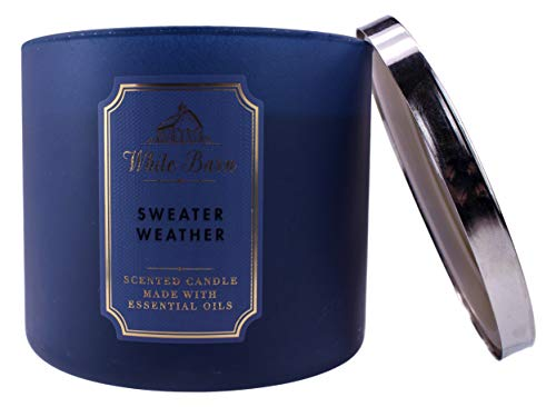 White Barn Sweater Weather 3 Wick Candle WB