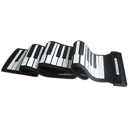Express Panda® 2015 Nuevo Modelo música electrónica Flexible Teclado con USB | Electrónica Midi Enrollable Sintetizador Piano con 88 Teclas de ...