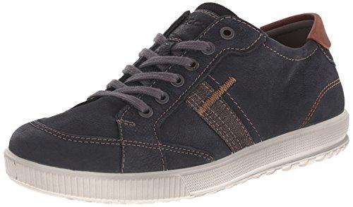 ECCO Men's Ennio Retro Sneaker, Black