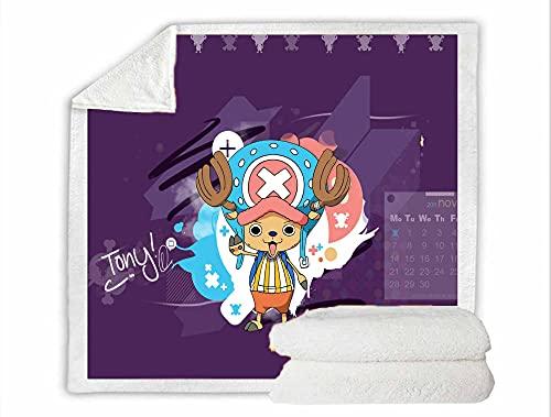 Las Mantas para niños están Hechas de algodón Puro ultracómodo con Dibujos de Dibujos Animados, Muy adecuadas para un sueño Tranquilo.-a_80X120CM