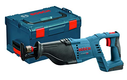 Bosch CRS180BL Bare-Tool 18-Volt Lithium-Ion Reciprocating Saw with L-BOXX-3 and Exact-Fit Tool Insert Tray