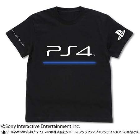 """プレイステーション Tシャツ """"PlayStation 4"""" ブラック Lサイズ"""
