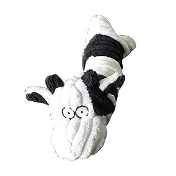 Kiao Jouets à Couinement Avec Couinements Pour Chien en Coton PP de Haute Qualité Jouet Sonore Chien,Vache à lait