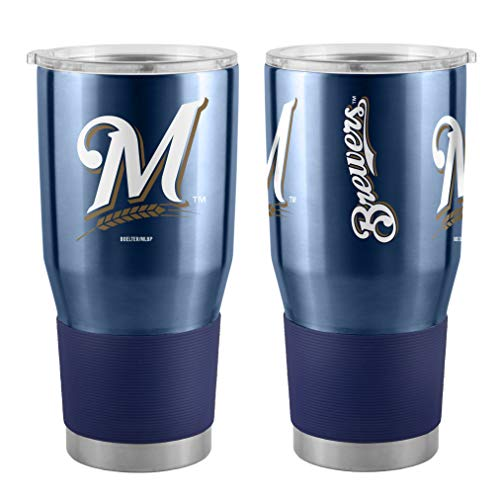 Boelter MLB Milwaukee Brewers 30 oz. Ultra Tumbler MLB Milwaukee Brewers, Black, Small