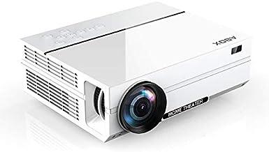 ABOX 4000 Lumen Beamer, Native 1080p (1920 x 1080) LED Videoprojektor tragbarer Full HD,..