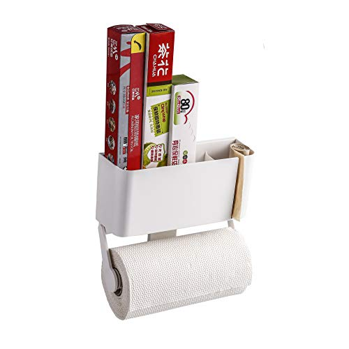 Magnetic Paper Towel Holder with Storage Box