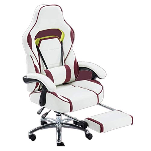 Sedie Gaming Sedie Video Game Gaming Sedia E-sports Pausa pranzo Sedia ergonomica Presidenza alla moda Ufficio Reclining 170 gradi può essere sollevato e abbassato da corsa sedia for il gioco di lavor