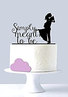 Best simply silhouettes cake topper Reviews