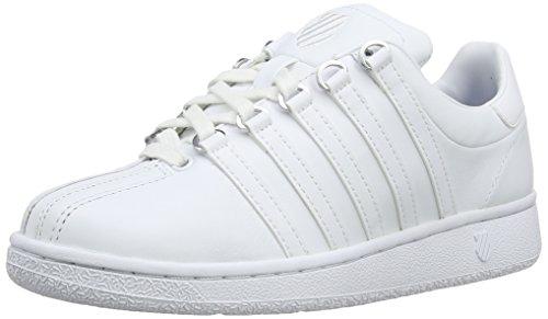 K-Swiss Damen Classic Vn Sneaker, Weiß (Weiß/Weiß), 40 EU