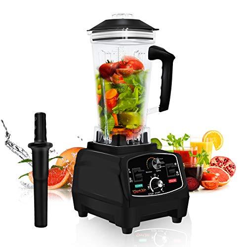 Standmixer Smoothie Maker Smoothie Blender, WantJoin Professioneller Standmixer 2000W für Smoothies und Shakes mit 2.2L Tritan-Behälter ohne BPA, Standmixer hochleistung für Küche, Frozen Desser