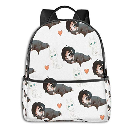 Junji Ito Uzumaki Collage Student School Bag School Cycling Leisure Travel Camping Outdoor Backpack