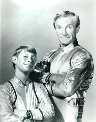 PHOTO C3141 Lost In Space Billy Mumy Jonathan Harris