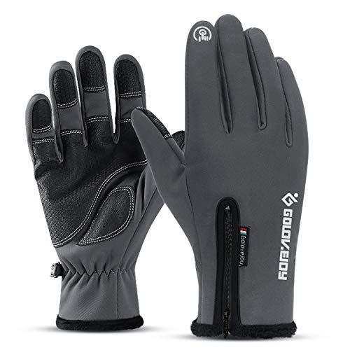 Winterhandschuhe Touchscreen Handschuhe Outdoor Wasserdicht Handschuhe Herren Reiten - - XX-Large