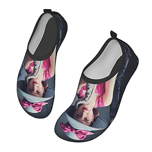 KangZiXunWJH The Mar_Velous Mr_S. Ma_Isel - Zapatillas de deporte acuático de secado rápido para yoga para hombre y mujer, color Negro, talla 36/37.5 EU