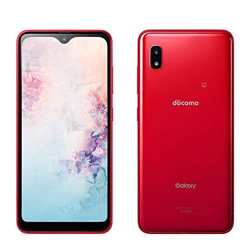 docomo Galaxy A20 SC-02M レッド Red 白ロム
