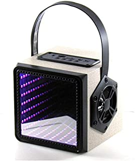 Lantern Cube Bluetooth Speaker, Black