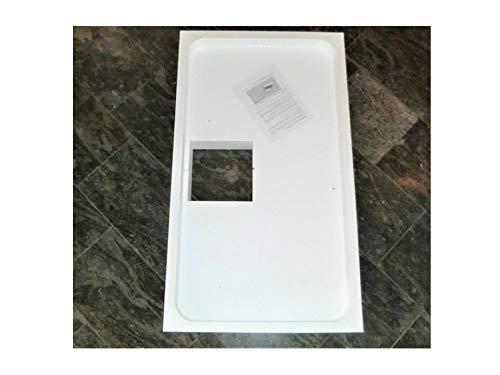 Universal Duschwannenträger Wannenträger Styroporträger für Acryl Duschen 140 x 90 x 2,5 cm superflach; Höhe des Trägers 14,5cm