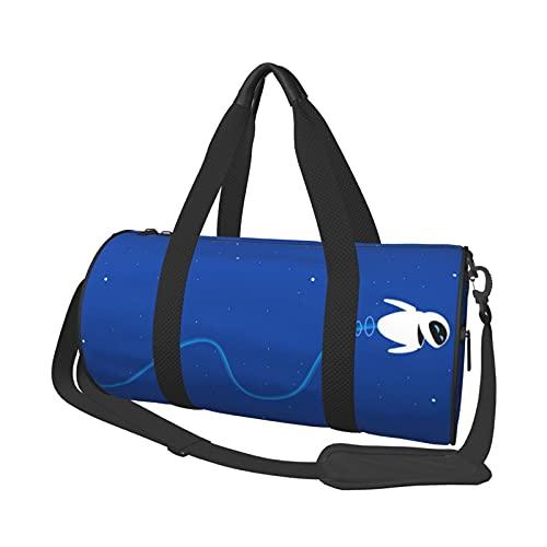 Wall-E - Bolsa de viaje de corta distancia para oficina, viaje, natación, fitness, moda, impermeable, portátil, bolsa de viaje