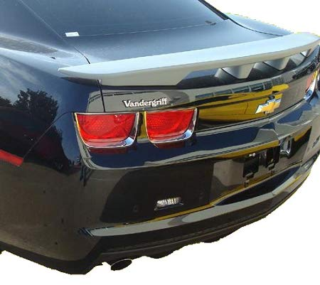 Accent Spoilers- Spoiler for a Chevrolet Camaro (4-Post) Factory Style-Inferno Orange Metallic Paint Code: WA502Q