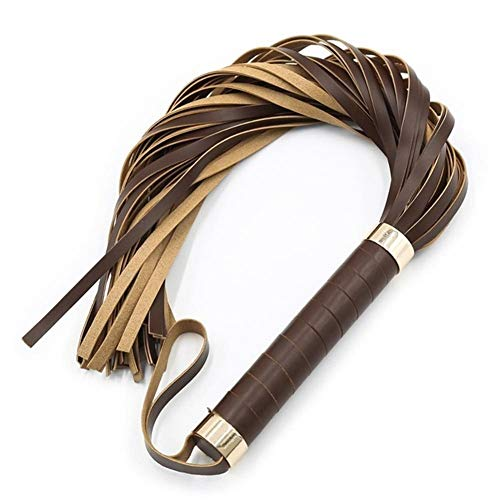 ZKWSJNGD Wand with a soft artificial leather belt for horseback riding