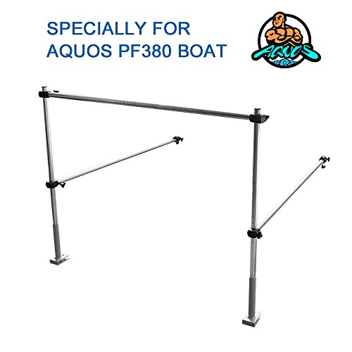AQUOS The Guard Bar 12.5 inch Green 0.9 PVC Inflatable Pontoon Boat for Lure Fishing Bass Fishing