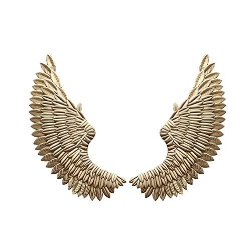 Alas de ángel para colgar en la pared, escultura de pared, alas...
