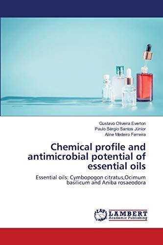 Chemical profile and antimicrobial potential of essential oils: Essential oils: Cymbopogon citratus,Ocimum basilicum and Aniba rosaeodora