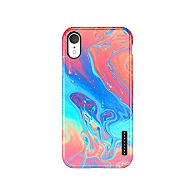 iPhone XR Case Watercolor, Akna Sili-Tastic Series High Impact Silicon Cover with Full HD+ Graphics for iPhone XR (Graphic 101866-U.S)