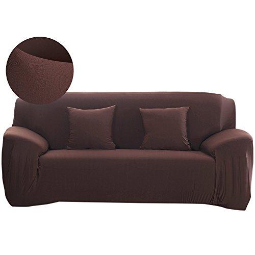 Scorpiuse - Funda de sofá elástica (1 pieza, tela poliéster elástico, 3 cojines)