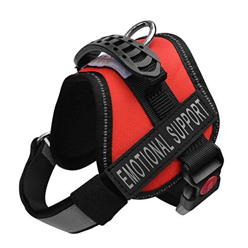 ALBCORP Emotional Support Dog Vest - Reflective Harness...