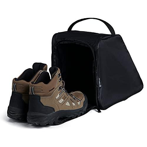 Case4Life Noir Sacoche/Etui à Chaussures Bottes de Randonnée Résistant à l'eau - Garantie à Vie