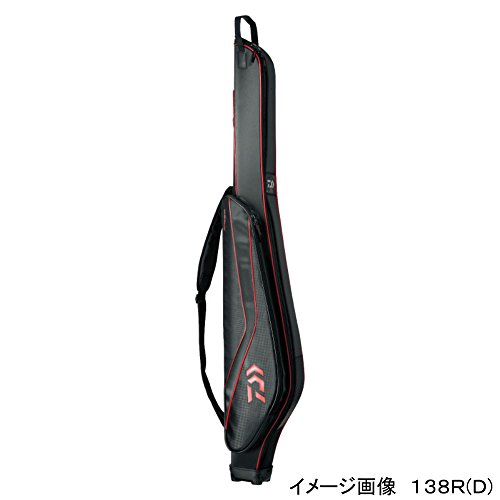 ダイワ(Daiwa) ロッドケース セミハード ロッドケース(D) 138RW(D) レッド