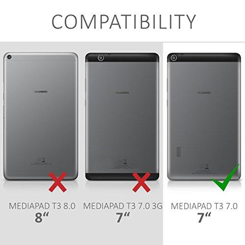 kwmobile Huawei MediaPad T3 7.0 Hülle - Tablet Cover Case Schutzhülle für Huawei MediaPad T3 7.0 mit Ständer - 6