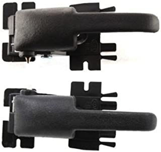 Interior Door Handles compatible with EXPLORER 91-03 Set of 2 Front or Rear Left and Right Side Plastic Black Lever only