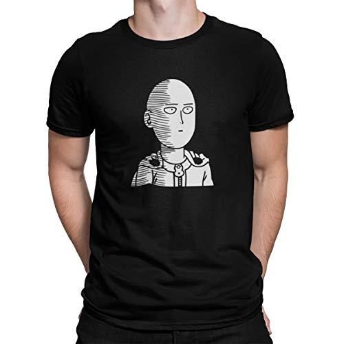 Camiseta Camisa One Punch Man Masculino Preto Tamanho:M