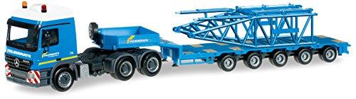 Herpa 303.989 - Tractor Modelo con semirremolque Mercedes-
