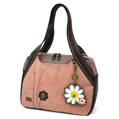 Chala Bowlingtasche – Daisy – Dusty Rose | Taschen > Handtaschen > Bowlingtaschen | CHALA