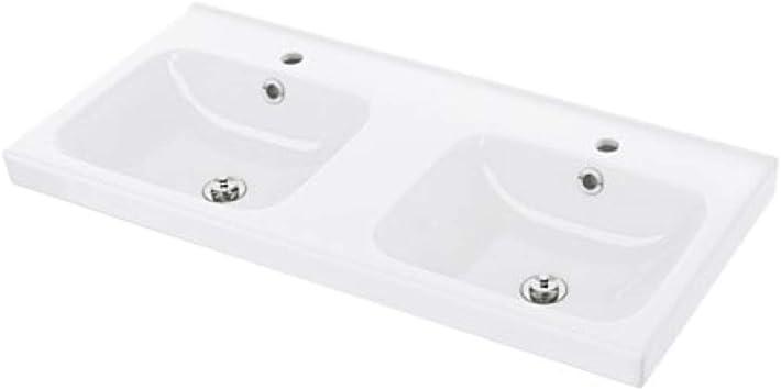 Ikea Odensvik Double Bowl Sink 301 483 21 Size 40 1 2x19 1 4x2 3 8 Amazon Com