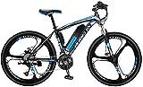 Bicicletas Eléctricas, Adulto bicicletas de 26 pulgadas de montaña eléctrica, batería de litio de 36V / 27 la velocidad de Alta Resistencia de alto carbono marco de acero campo a través eléctrico de l