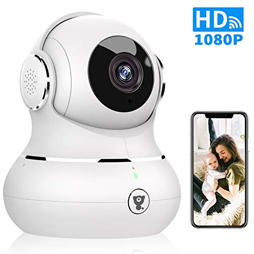 WiFi Home Security Camera - Littlelf Smart 1080P Indoor Wireless Pet Camera for Baby Monitor with...