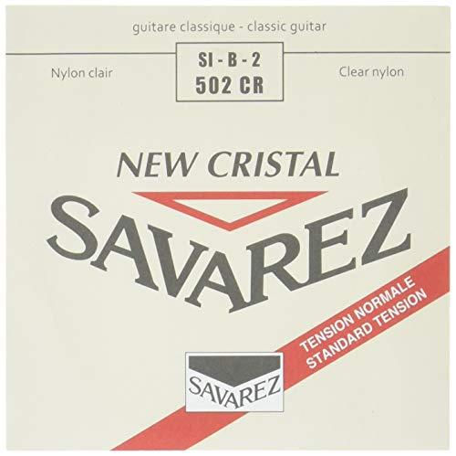 Savarez 656132 Alliance Ht Classic 502Cr Saiten Für Klassik-Gitarre, Einzelsaite H/B2 New Cristal Standard