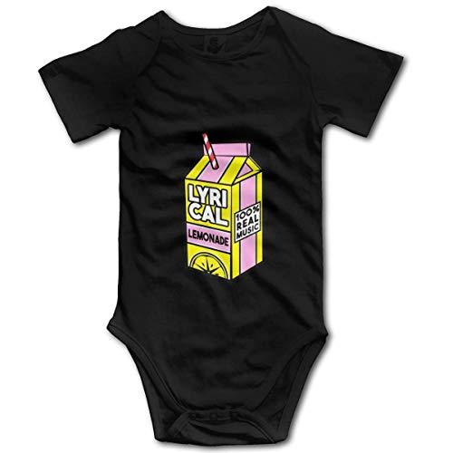 ZhangYu L-Yrical Limonade Baby Bodysuit Neugeborene Kurzarm Baby Jumpsuit Baby Unisex